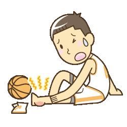スポーツでの怪我